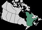 نقشه کبک