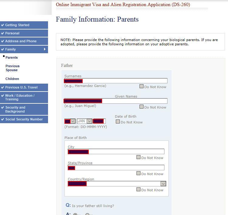 اطلاعات خانواده